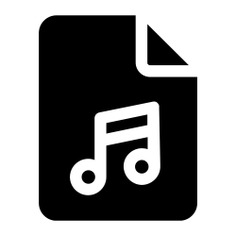 See more icon inspiration related to document, files and folders, music and multimedia, music file, audio file, formats, archive and files on Flaticon.