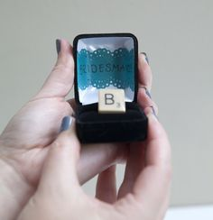 DIY | will you be my bridesmaid #3 - Something Turquoise {daily bridal inspiration}