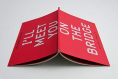 Magpie Studio #design #book #red