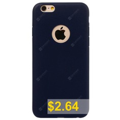 ASLING #Ultra-thin #Back #Case #Protector #for #iPhone #6 #/ #6S #TPU #Material #- #DEEP #BLUE