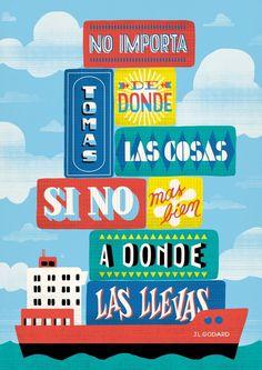 Jean Luc Godard 2012 poster quote