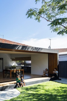 Brick Bungalow Addition by MODO Architecture: Open House 3