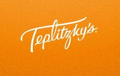 Mucca | Work | Teplitzky's #lettering #design #teplitzkys #logo #mucca #typography