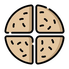 See more icon inspiration related to flour, soda bread, food and restaurant, gastronomy, nutrition and food on Flaticon.