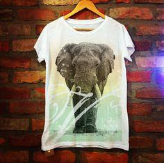 Graphic Tee #graphic #tshirt #elephant