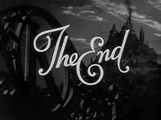 citizen-kane-end-title-still.jpg (JPEG Image, 640x480 pixels) #the #end #typography