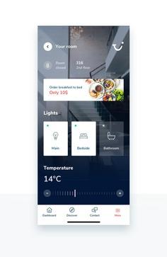 TUI Holiday – Concept App – Smart room