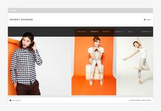 Geordy Pearson by R&Co. http://r-ny.com #responsive #design #clean #website #grid #minimal #web
