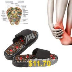 Foot #Massage #Slippers #Acupuncture #Therapy #Massager #Shoes #For #Foot #Acupoint #Activating #Reflexology