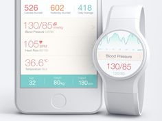 Medical App UI by http://ramotion.com #user #watch #ux #design #interface #iwatch #ui #smart #iphone #experience #app #wear #mobile #android #medical #gui