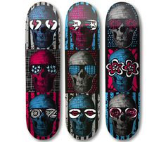 Stacks 'ML Skulls' Series Decks   mashKULTURE