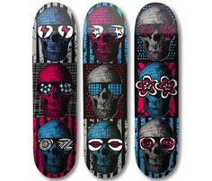 Stacks 'ML Skulls' Series Decks   mashKULTURE