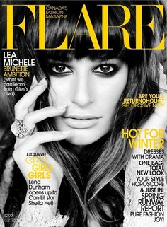 merde petit maitre:Magazine(Flare December 2012, Lea Michele by Max Abadian, via thecysight) #fashion #cover #flare #magazine