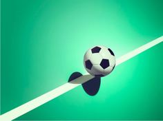 Sports and Surreal Shadows by Kelvin Murray   Soccer