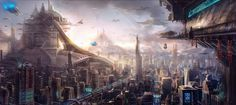 futuristic artwork by cinemagorgeous #futuristic #art #work