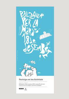Balaguer per la Maratxc3xb3 #tipografia #diseo #estudi #tipography #de #estudio #ilustration #disseny #grafico #ilustracion