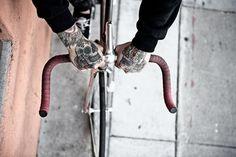 FFFFOUND! | YIMMY'S YAYO™ #tattoo #bike #hands
