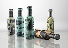 Ouzo packaging design taste of Greece #ouzo #bottle #packaging #design #illustration #greece