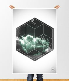 abs6 #abstract #polygon #print #design #graphic #experimental #geometric #triangle #poster #dark #3d