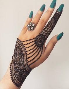 Arabic back hand design 2020