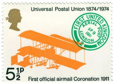 universal postal union british postage stamp | Flickr Photo Sharing!