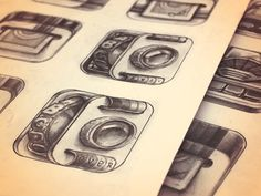 iPhone App Icon Sketches — Stage 2 #icon #iphone #design #app