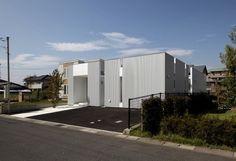 Diamond House by Masao Yahagi Architects #design #home #architecture #minimal #minimalist