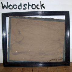 Manon Fvl | Portfolio » WOODSTOCK #frame #wall #woodstock