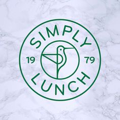 Our #identity for sandwich-makers Simply Lunch based in South London. Our graphic hummingbird represents their constant search for the very best local produce for their sandwiches. 🥙 #branding #brandidentity #foodie #graphicdesign #sandwich #logo #logodesign #foodbranding