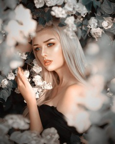Gorgeous Female Portrait Photography by Michael Edward