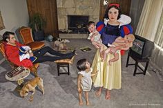 Fallen Princesses by Dina Goldstein » Creative Photography Blog #inspiration #creative #photography