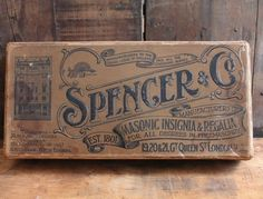 Spencer_box_2 #vintage #typography