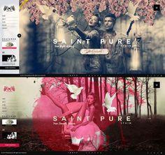 Landing pages #page #design #we #concept #minimal #fashion #layout #landing
