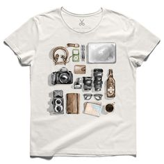 #shutterism #offwhite #tee #tshirt #headphone #watch #beerbottle #camera #lens #wallet #specs #book