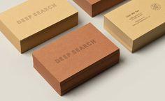 B+Y_DeepSearch01 #logotype #cards #identity #business