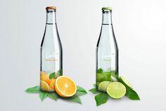 Levité MineralWater - TheDieline.com - Package Design Blog