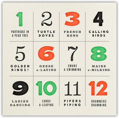 Paperless Post Browse PAPER Holiday Cards #christmas #numerals