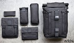 Mission Workshop's Arkiv Modular Bag Design - Core77 #bag