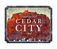 Cedar City - The Everywhere Project #utah #west #brandon james scott #ceder city