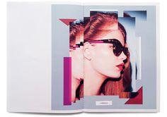 StudioThomson – Preen Eyewear SS14 #design #layout #collage