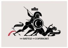 Toutes les tailles | THE BATTLE OF COPYRIGHT 2011 Christopher Dombres | Flickr : partage de photos ! #inspiration #print #of #the #copyright #battle #poster