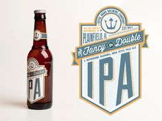 Ipa - I like this simple label design #beer