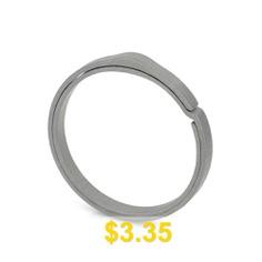 FURA #GEAR #S #Size #Durable #TC4 #Titanium #Alloy #Key #Ring #- #DARK #GRAY