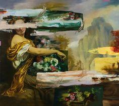 Simon Casson #art #collage #painting #imon casson
