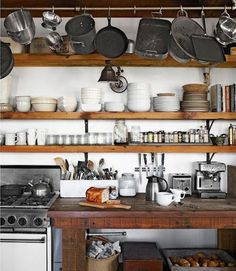 Kitchen organization #interior #design #kitchen #deco #decoration
