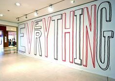 Typeverything.com Exhibition design for The... - Typeverything #hand #written