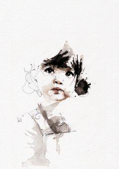 Nu206 #art #drawing #watercolor