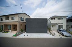 Housing of YOS Yaotome by UAPP #modern #design #minimalism #minimal #leibal #minimalist