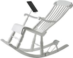 iPad Rocking Chair #inspiration #ipad #gadget #furniture #minimal