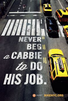 BEG_A_CABBIE_47 75x71.indd #advertising #bike #typography